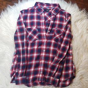 Forever 21 Women's Flannel Long Sleeve